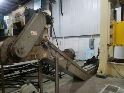 21 X 208 Ereiz Magnetic Dog Leg Style Conveyor 6 Infeed Length 69 Discharge