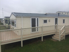 Stunning 3 Bed Caravan With Decking-Dumfries and Galloway-Ayrshire-Newcastle-Borders-Pet Friendly