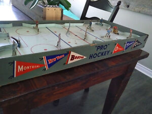 Old tabletop hockey game
