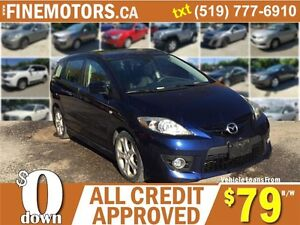 2009 MAZDA MAZDA5 GS * LEATHER * HEATED SEATS * 7 PASSENGER