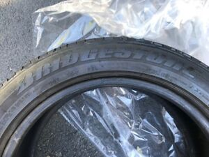 4 - Bridgestone All Season Tires  205 55 R17