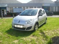 Renault Twingo 1.2 Expression 3dr (silver) 2010