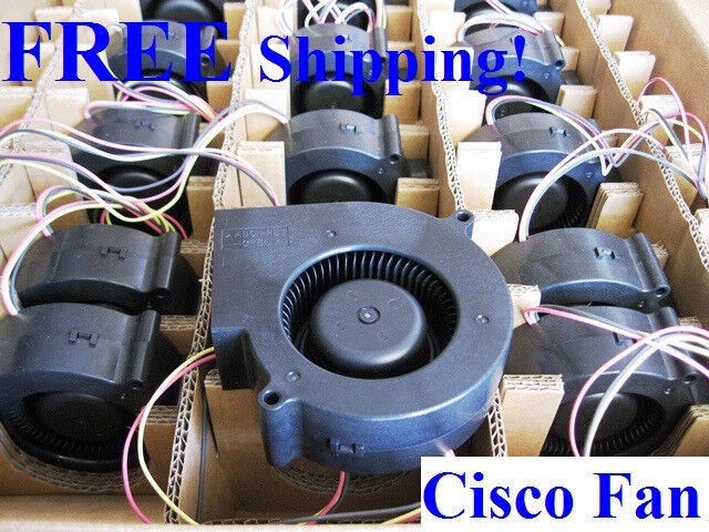 New Cisco Catalyst (WS-CE500G-12TC) 12-Ports Replacement Blower Fan; CE500