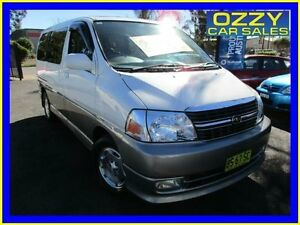 2001 Toyota Hiace GRANVIA White 4 Speed Automatic Van Minto Campbelltown Area Preview