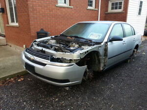2004 CHEVY MALIBU PARTS- last chance, going to wreckers soon