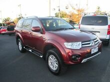 2013 Mitsubishi Challenger PB (KG) MY13 Red 5 Speed Manual Wagon Heidelberg Heights Banyule Area Preview