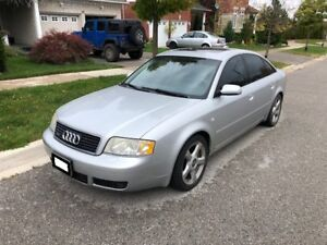 2004 Audi A6 2.7T Quattro as is.