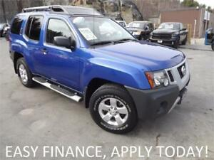 2012 Nissan Xterra S 4X4! V6! ALLOYS! NAV! BACKUP CAM! CRUISE!