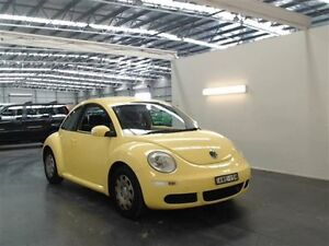 2005 Volkswagen Beetle 9C Miami Yellow 4 Speed Automatic Hatchback Beresfield Newcastle Area Preview
