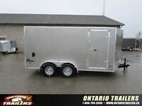 2016 Stealth Trailers 7 X 14+ V NOSE   DOUBLE REAR DOORS