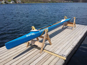 Plastex Dominator C1 Racing Canoe and Braca Paddle