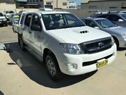 2010 Toyota Hilux KUN26R 09 Upgrade SR (4x4) White 5 Speed Manual Dual Cab Chassis Peakhurst Hurstville Area Preview