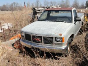 1990 GMC Sierra 1500 Pickup Truck bad body