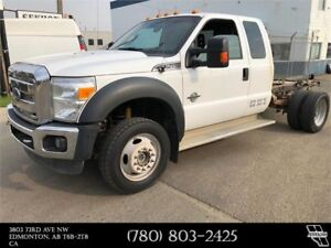 2015 Ford Super Duty F-450 DRW XLT Cab & Chassis