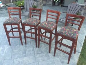 36 Bar Stools / High back Chairs