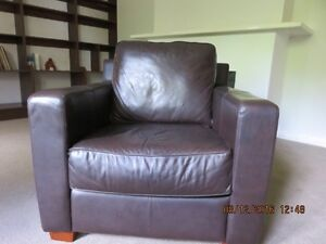 Leather Armchair Holden Hill Tea Tree Gully Area Preview