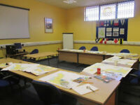 Training rooms available to rent by the hour in Hartlepool