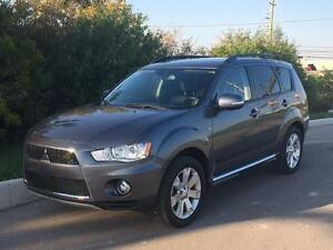 2012 Mitsubishi Outlander GT 7 Passenger! BACK UP CAM! AWD