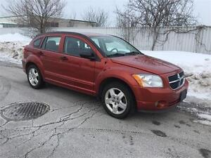 2008 DODGE CALIBER WITH LOW KM 80000KM CLEAN CERTIFIED ONT/QC