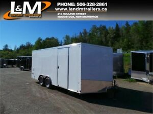 NEW 2019 CARGO EXPRESS 8.5' X 18' ENCLOSED CARGO TRAILER