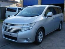 2011 Nissan Elgrand E52 250XG Silver 5 Speed Tiptronic Wagon Caringbah Sutherland Area Preview