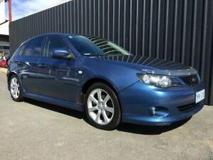 2007 Subaru Impreza MY07 2.0RS (AWD) Blue 4 Speed Automatic Sedan