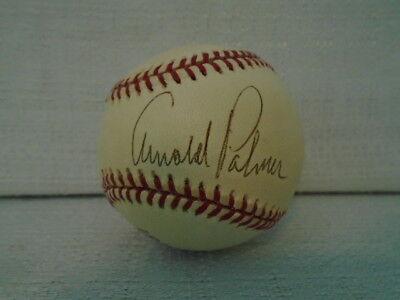 Arnold Palmer & Curtis Strange Signed Wake Forest Golf Alumni NL Baseball JSA