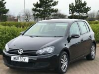 VOLKSWAGEN GOLF 1.4 TWIST 5d 79 BHP (black) 2011
