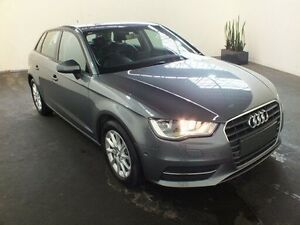 2015 Audi A3 8V MY16 Sportback 1.4 TFSI Attraction Grey 7 Speed Automatic Hatchback Clemton Park Canterbury Area Preview