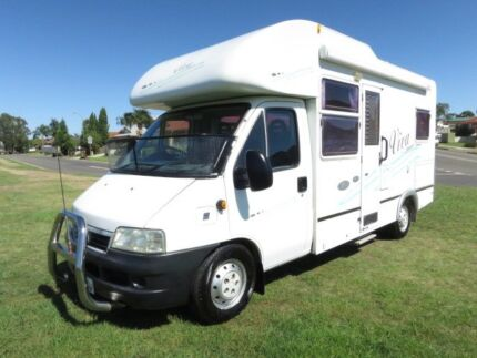 Sunliner Viva Motorhome – LOW KMS - COMPACT Glendenning Blacktown Area Preview