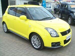 2009 Suzuki Swift EZ 07 Update Sport Yellow 5 Speed Manual Hatchback