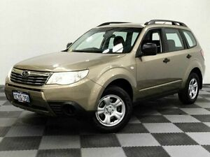 2009 Subaru Forester S3 MY09 X AWD Gold 4 Speed Sports Automatic Wagon Edgewater Joondalup Area Preview