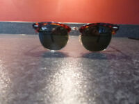 RAY BAN CLUBMASTER SUNGLASSES RB3016WO366 51 00 3N NO PAPERWORK OR CASE