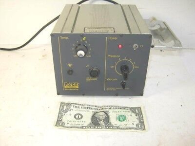 Pace Mbt-100 Solder Iron Station -microbench Top--machine Only