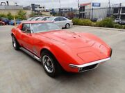 1969 Chevrolet Corvette C3 MY1969 Stingray Orange 4 Speed Manual Roadster Wangara Wanneroo Area Preview