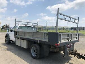 2005 Ford F-550 XL - Regular Cab - 14 ft Flat Bed - RWD - Dually