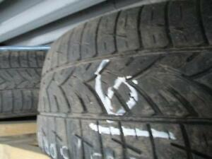 205/50R16 2 ONLY MATCHING USED FUSION A/S TIRES