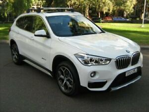2016 BMW X1 F48 xDrive 20D White 8 Speed Automatic Wagon North Melbourne Melbourne City Preview