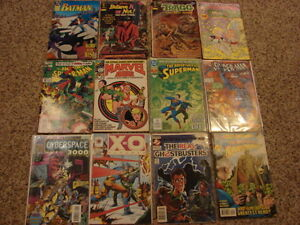 Lots of old comics books for sale