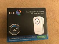BT 11ac Dual Band WiFi Extender 1200