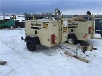 2007 ingersoll rand L6 6kw FOR PARTS ENGINE NOISE