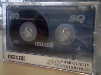 MAXELL SQ 90 CHROME CASSETTE TAPES. *THIS WEEK ONLY. LIMITED UNBEATABLE OFFER!* LAST FEW LEFT.