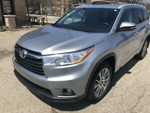 2015 Toyota Highlander XLE_NAVI_LEATHER_7 PASSENGER_TOYOTA LEASE