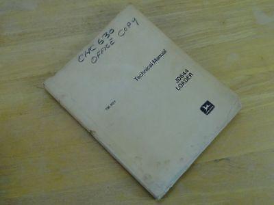 Oem John Deere 644 Front End Loader Service Repair Technical Manual Tm-1011