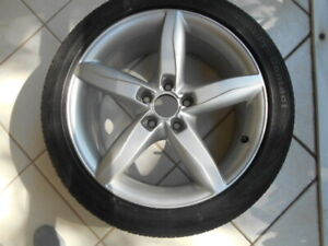 Audi Factory 18 inch alloys, Continental tires