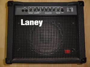 LANEY GC-30 Solid State 30W Guitar Amplifier with Reverb Marrickville Marrickville Area Preview