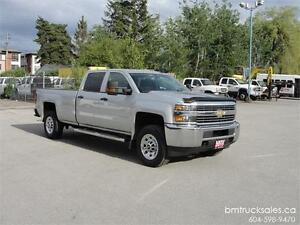 2015 CHEVROLET SILVERADO 3500HD CREW CAB LONG BOX 4X4 1 TON