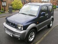2007 (07 Reg) Suzuki Jimny 1.3 JLX PLUS Blue 3dr 4WD Estate Petrol Manual FSH 2 OWNERS