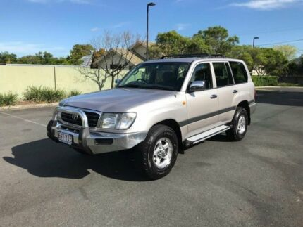 2001 Toyota Landcruiser HDJ100R GXL Silver 4 Speed Automatic Wagon Chermside Brisbane North East Preview