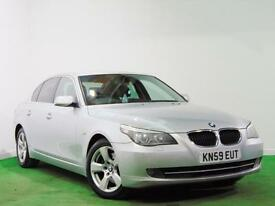 BMW 520D SE + FSH + HEATED SEATS + FULL LEATHER +SAT NAV +BLUETOOTH